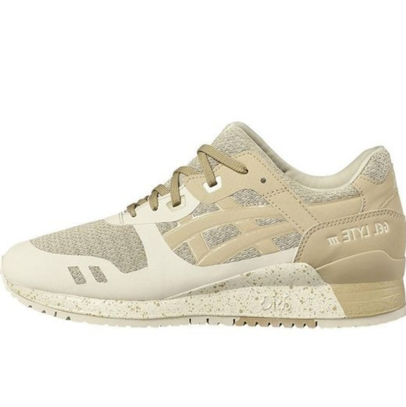 low priced wide varieties discount Asics Gel-Lyte III NS Trainers Birch Latte Beige